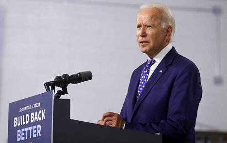 Joe Biden ei ole vielä kertonut, kenet hän haluaisi varapresidentikseen, jos hänet valitaan marraskuussa presidentiksi.