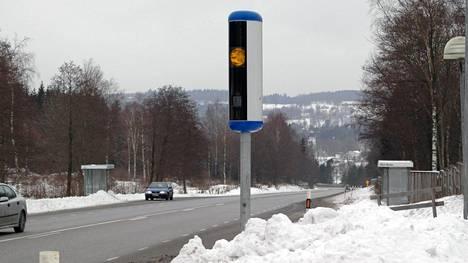 Poliisin uudenmallinen valvontakamera.