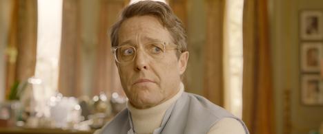 Hugh Grant esittää narsistista näyttelijää, joka janoaa takaisin parrasvaloihin.