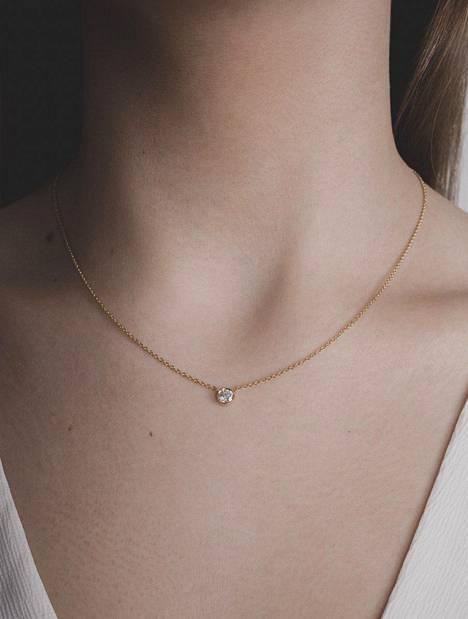 Kultainen timanttikaulakoru 580 €, Karaat Jewelry.