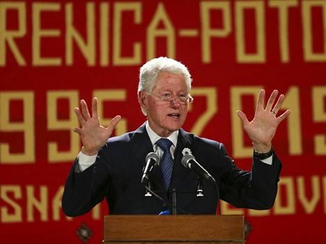 Katriina Kortesuo pitää Bill Clintonia hyvänä esimerkkinä karismaattisesta ihmisestä.