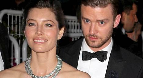 Jessica Biel ja Justin Timberlake menivät naimisiin vuonna 2012.