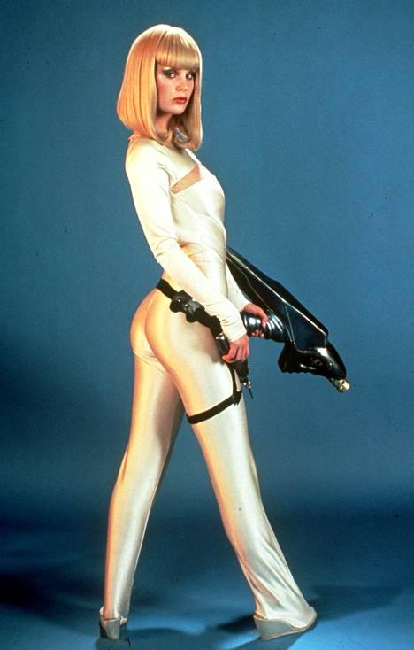 Dorothy Stratten esitti nimiroolia scifi-komediassa Galaxina (1980).
