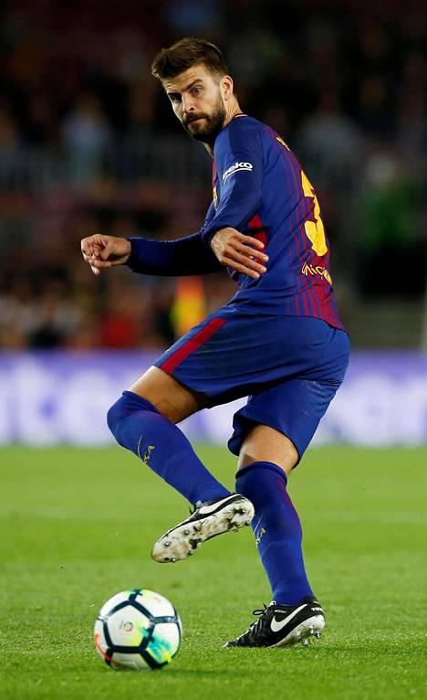 Barcelonan tähtipuolustaja Gerard Pique on aiemmin ilmaissut tukensa itsenäisyydelle.
