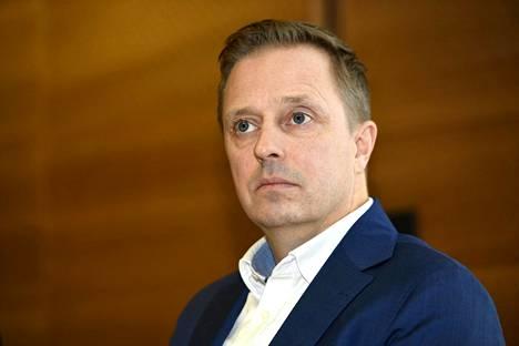 STM:n ohjausosaston osastopäällikkö Pasi Pohjola.