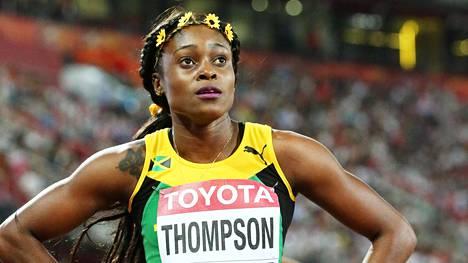 Elaine Thompson on yksi kultamitalisuosikeista Rion olympialaisissa.
