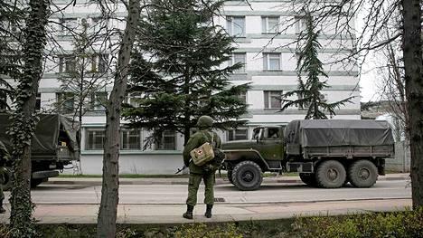 Tilanne Ukrainassa kiristyy entisestään.
