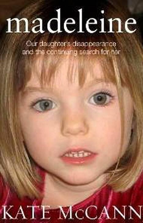 Kate McCann julkaisi vuonna 2011 kirjan tyttärensä katoamisesta ja etsinnöistä. Kirjan kansikuvassa näkyy tytön kenties huomattavin tuntomerkki, erikoinen oikean silmän pupilli.