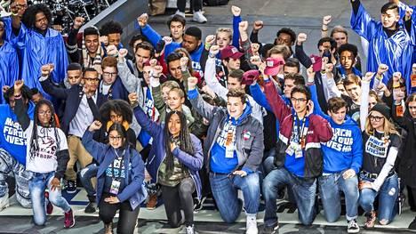 Marjorie Stoneman Douglasin lukion oppilaat saivat seurakseen huikeat 800 000 ihmistä March for our Lives -mielenosoitukseen Washingtonissa.