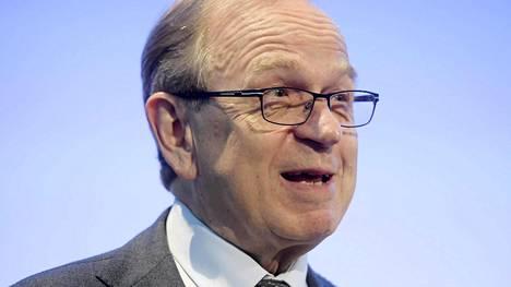 Suomen pankin entinen pääjohtaja Erkki Liikanen.