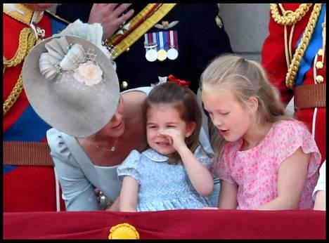 Prinsessa Charlotte pahoitti mielensä kesken tilaisuuden.