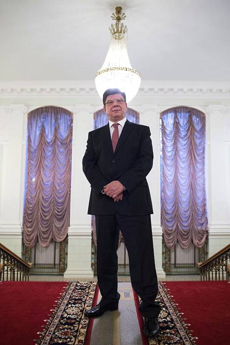 Suurlähettilään pesti kruunaa Pavel Kuznetsovin uran Tehtaankadulla.