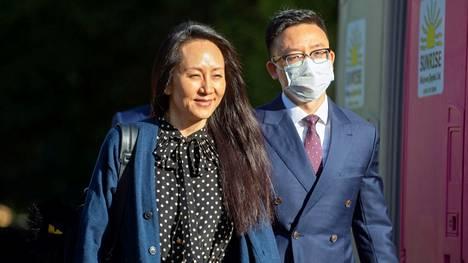 Meng Wanzhou saattaa päästä lähtemään Kanadasta.