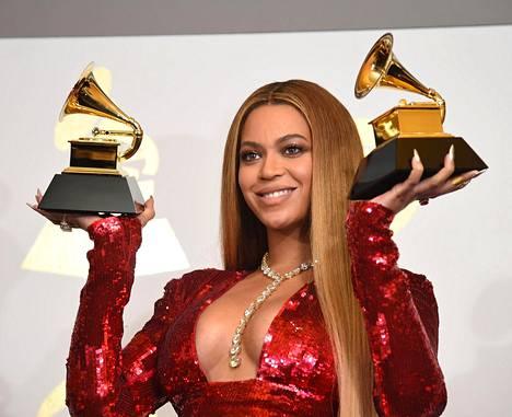 Beyoncé on voittanut urallaan lukuisia palkintoja. Vuonna 2017 hän voitti muun muassa useamman Grammyn.