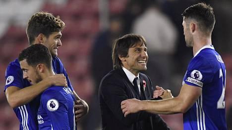 Chelsea voitti Southamptonin.