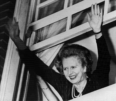 Margaret Thatcher nousi vuonna 1979 Britannian ja koko Euroopan ensimmäiseksi naispääministeriksi.