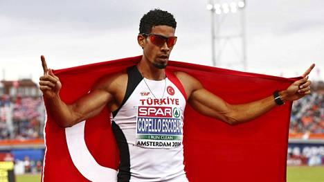 Yasmani Copello Escobar on syntynyt Kuubassa, mutta vei EM-kultaa turkkilaisena.