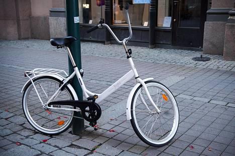 Jopo on varastetuin pyörämerkki.