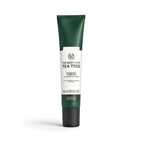 The Body Shop Tea Tree In-Control Hydrator -kasvovoide, 15,90 € / 40 ml.