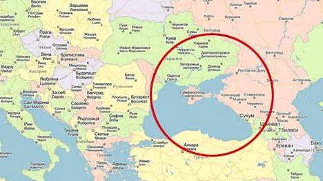 Venaja Vaatii Googlen Karttaa Nayttamaan Krimin Osana Venajaa