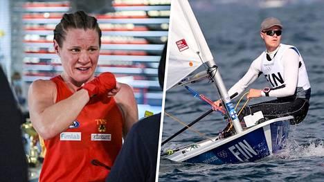 Mira Potkonen avaa olympiaurakkansa tiistaina ja Kaarle Tapper jatkaa mitalinmetsästystään. Tapper johti Laser-luokkaa maanantain jälkeen.