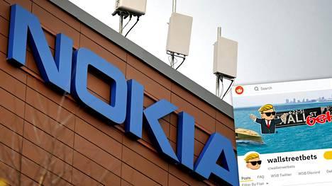 Nokiaa on hehkutettu muun muassa Redditin Wallstreetbeats-kanavalla.