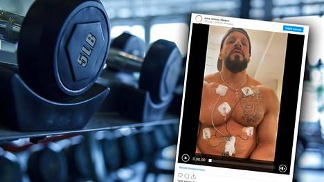 Mike G. Cipriani on kokenut kovia steroidien takia.