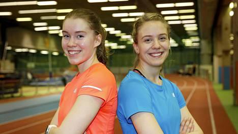 Nea Mattila ja Lotta Kemppinen ovat harjoitelleet yhdessä jo vuosikymmenen.