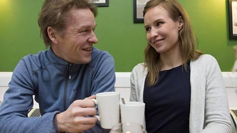 Toni ja Heidi Nieminen keskustelivat asioistaan avoimesti ja perinpohjin. Sopu löytyi.