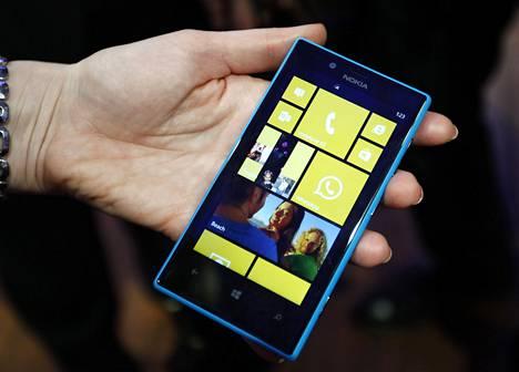 Windows Phone -käyttöjärjestelmän suosio perustuu pitkälti edullisen Lumia 520:n menestykseen.