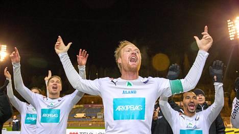 Jani Lyyski ja IFK Mariehamn ovat enää voiton päässä Veikkausliigan mestaruudesta.