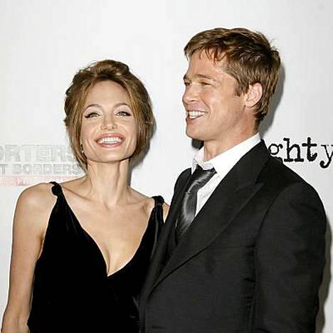 Angelina Jolie ja Brad Pitt ovat Hollywoodin superpari.