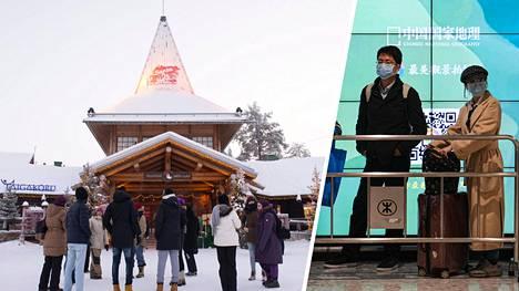 Joulupukin kylä on kiinalaisten uuden vuoden matkaajien suosiossa.