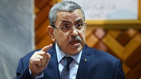 Marokon itäisen rajanaapurin Algerian pääministeri Abdelaziz Djerad kritisoi viime päivien diplomaattisia liikkeitä, jotka uhkaavat Algerian mielestä alueen vakautta.