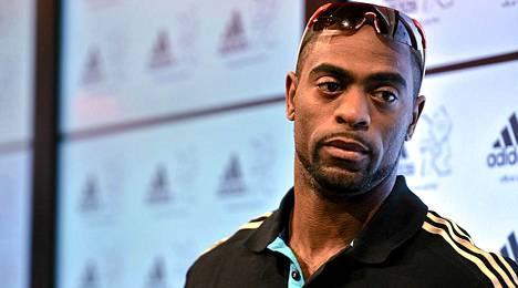 Tyson Gay on Usain Boltin ykköshaastaja MM-kisoissa.