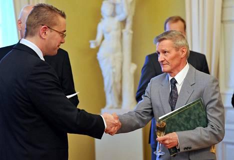 Jouko Kuha sai opetusministeriön myöntämän Pro Urheilu -palkinnon vuonna 2009.