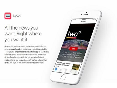 Apple News käynnistyi syyskuussa. Nyt Googlella on kiire nopeuttaa omia uutisiaan.