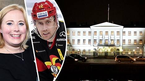 Marko ja Heidi Anttila ovat saaneet kutsun Linnan juhliin.