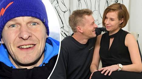 Toni ja Heidi Niemisen avioero peruttiin maaliskuussa. Toni Nieminen kertoi IS:lle nykykuulumisistaan Rukalla viikonloppuna.