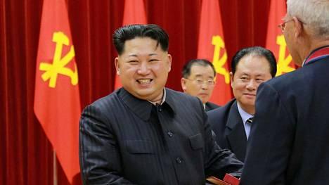 Pohjois-Korean johtaja Kim Jong-un kuvattiin 12. tammikuuta.