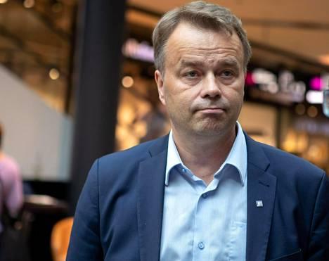 Janne Sankelo on kokoomuksen toisen kauden kansanedustaja.