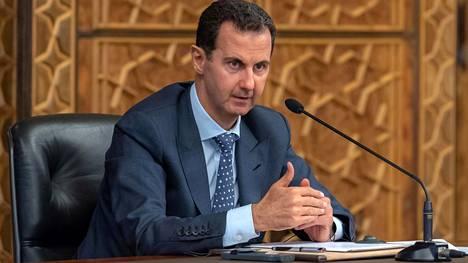 Bashar al-Assad on toiminut Syyrian presidenttinä vuodesta 2000.