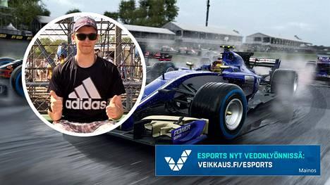 Aleksi Korsman ei tullut valituksi F1 Esports -sarjaan. Valintatilaisuudesta hän sai kuitenkin uuden kipinän kisaamiseen.