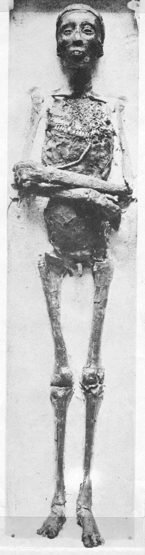 Tutankhamonin hauta löydettiin vuonna 1922.