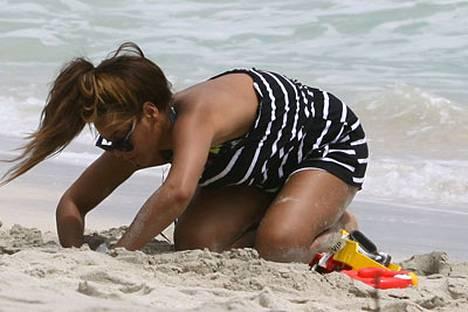 Beyonce ryhtyy rannan taatusti kauneimmaksi kaivuriksi.