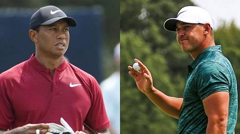 Tiger Woods pääsi lähelle major-voittoa – Brooks Koepka piti pintansa PGA-mestaruusturnauksen päätöskierroksella