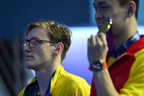 Mack Hortonin mielestä Sun Yang voitti MM-kultaa vilpillisesti.