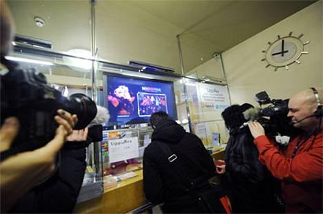 Madonnan konserttilippujen myynti oli myös mediatapahtuma.