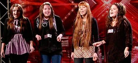 Onko nimi enne? Lässähtääkö The Pancakesin ura X Factorissa heti alkuunsa.