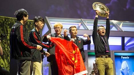 Newbee voitti Dotan maailmanmestaruuden 2014. Kultajoukkueen pelaajat eivät saaneet nyt pelikieltoa.